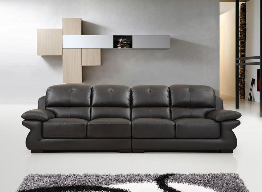 头层皮 功能沙发 躺椅  2