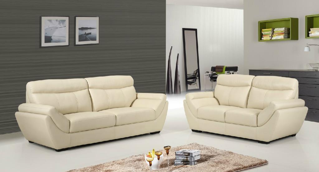 头层皮 功能沙发 躺椅  3