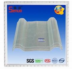 Transparent FRP Fiberglass Roofing Tile