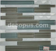 Glass mosaic match with architects and interior designers bathroom tile