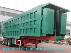 2or3or4 Axles Low Bed Semi Trailer Trucks  20T-50T