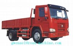 CARGO TRUCK SINOTRUK HOWO 4X2 290HP Euro II  Load 8-20 ton Energy-Saving ZZ1167M
