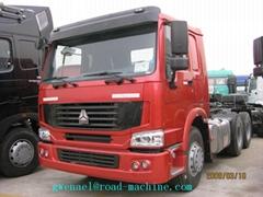 TRACTOR TRUCK SINO TRUK HOWO 6X4 336HP Energy-Saving  Load  20-60 ton Euro II