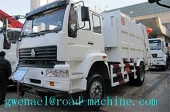 Garbage Compactor Truck  recycling 4x2 With 20 Mpa Hydraulic System