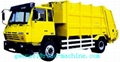 Garbage Compactor Truck  recycling 4x2 With 20 Mpa Hydraulic System 4