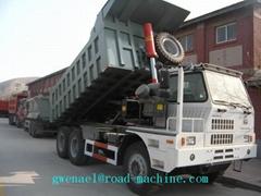 Sinotruk Mining Dump Truck 30Ton 50ton 60 Ton 70ton 90t