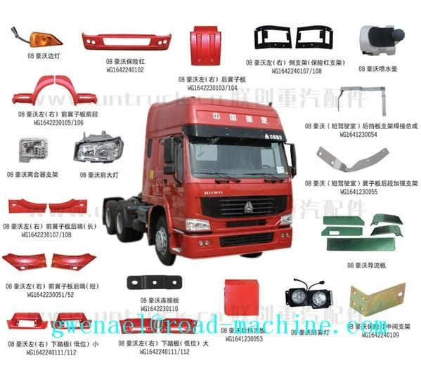 Howo Spare Parts Sinotruk Truck Parts China Manufacturer