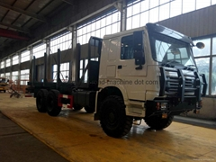 SINOTRUK ALL WHEEL DRIVE CARGO DUMP LOG TRUCK