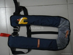 Inflatable Life Jacket CE ISO 12402-3