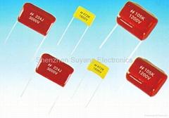 CBB81高壓混合式聚丙烯膜電容器(PPS)
