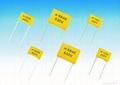 CL21B  金屬化聚酯薄膜介質盒式固定電容器  1