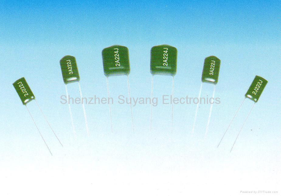 CL11  有感式聚酯薄膜介质固定电容器(PEI) 1