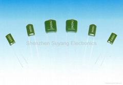 CL11  有感式聚酯薄膜介质固定电容器(PEI)