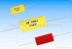 CL20 軸向金屬化聚酯薄膜固定電容器(MEA MET)