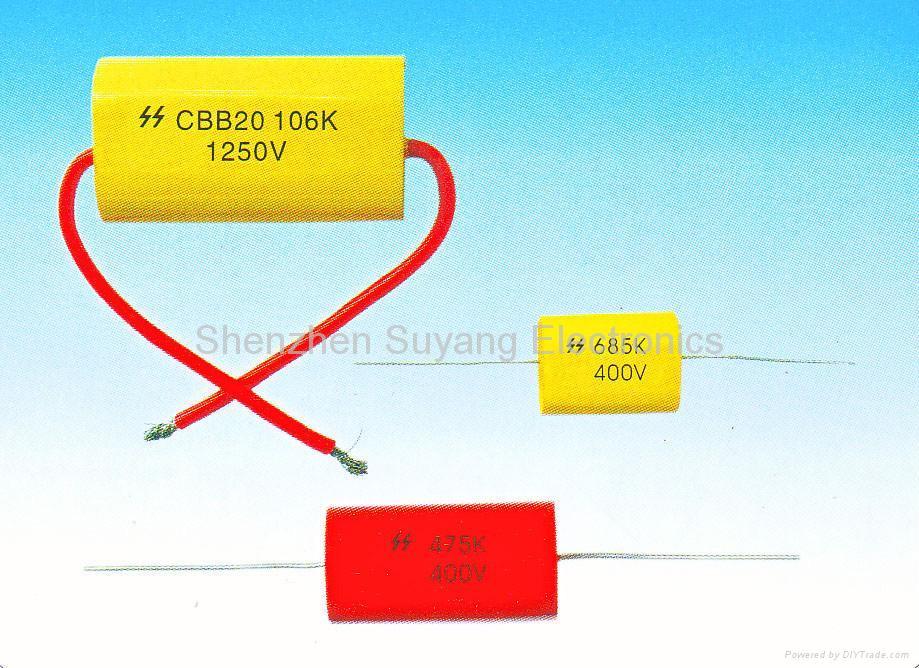 (CBB20)Metallized polypropylene film capacitor, Axial type(MPA Ser.) 1