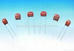CL21X超小型金属化聚酯薄膜电容器(MME)