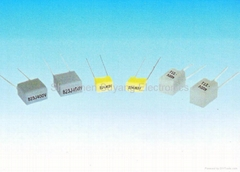 CL233X Mini metallized polyester film capacitor, Box type(MMB Ser.) (Hot Product - 1*)