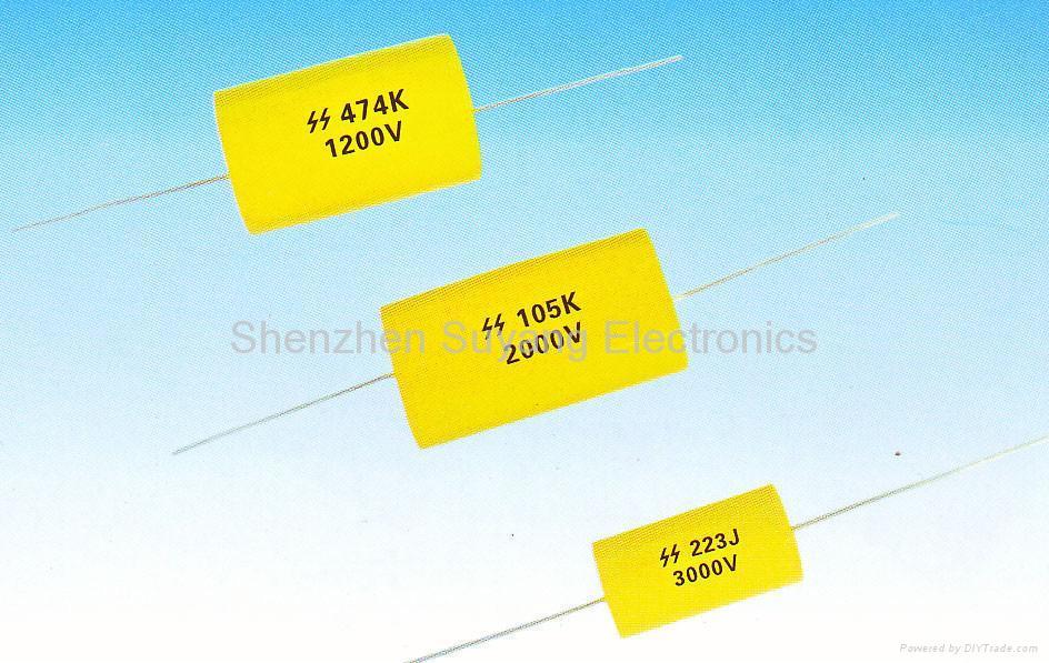 CBB91 High voltage polypropylene film capacitor(PPH Ser.) 1