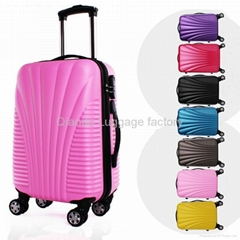 ABS +PC trolley luggage