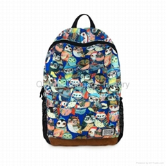 High quality pattern backpack