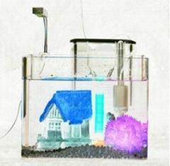 玻璃鱼缸粘接耐水无影胶水