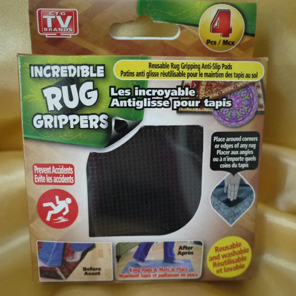 Incredible Rug Grippers 4 Pk Factory Supply ...