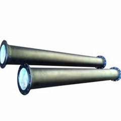 Flanged Ductile Iron Steel Pipe