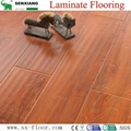 Customizable E1 AC4 Any Color and Surface Effect Waterproof Laminate Flooring 2