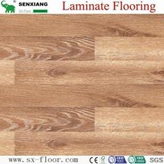German Technology Hdf Glossy Waterproof Locking Laminated Laminate Flooring