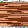 German Technology Hdf Glossy Waterproof Locking Laminated Laminate Flooring 2