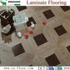 12mm Mdf/hdf Various Art Parquet Laminated Laminate Flooring