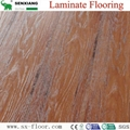 Global Popular Fashion Hardwood V-groove Design Laminated Laminate Flooring 3