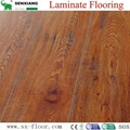 Global Popular Fashion Hardwood V-groove Design Laminated Laminate Flooring 4