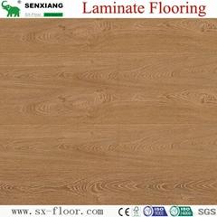 12mm Ac5 Wear Resistance Synchronized U-groove Laminate Laminated Flooring