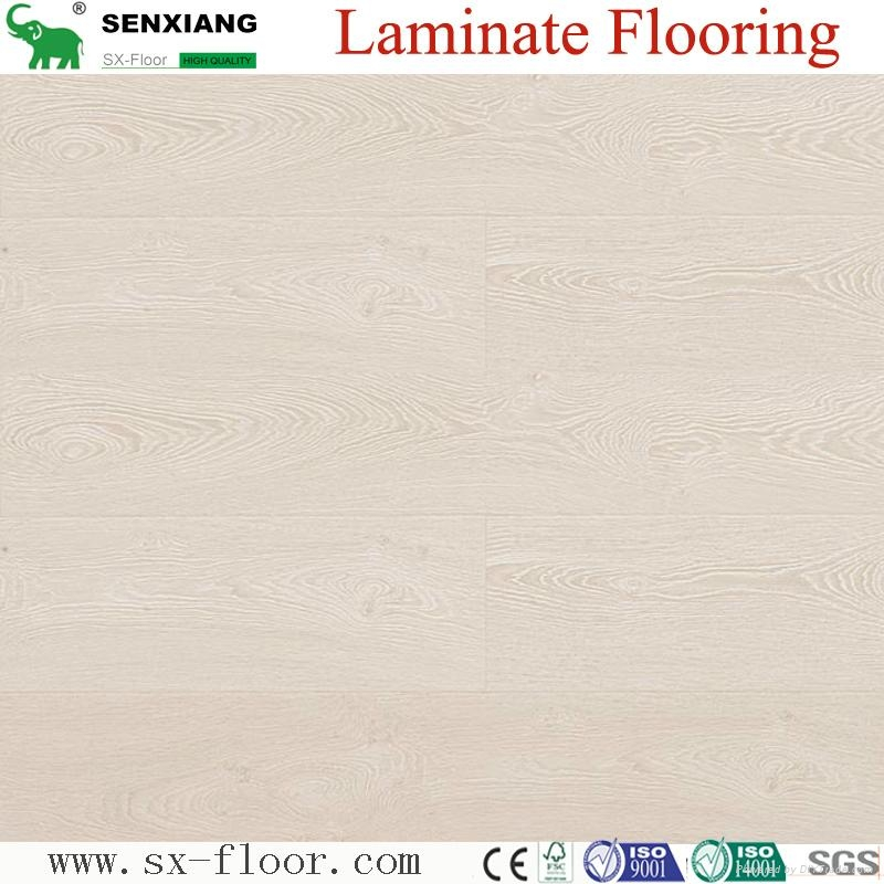 12mm Ac5 Wear Resistance Synchronized U-groove Laminate Laminated Flooring 3