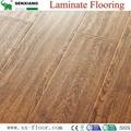 12mm Hdf Concave & Convex Surface Smooth Handscraped Laminate Flooring 1