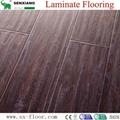 12mm Hdf Concave & Convex Surface Smooth Handscraped Laminate Flooring 2