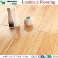 12mm Radiant Brilliance Mirror Wood Surface U-groove Laminated Flooring 1