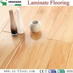 12mm Radiant Brilliance Mirror Wood Surface U-groove Laminated Flooring
