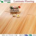 12mm Radiant Brilliance Mirror Wood Surface U-groove Laminated Flooring 3