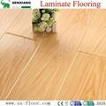 12mm Radiant Brilliance Mirror Wood Surface U-groove Laminated Flooring 2