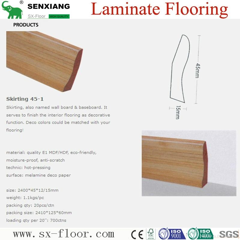 Accessories Of Laminate Flooring (Skirting/Wall board/Underlayment) 1
