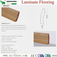 Accessories Of Laminate Flooring (Skirting/Wall board/Underlayment)