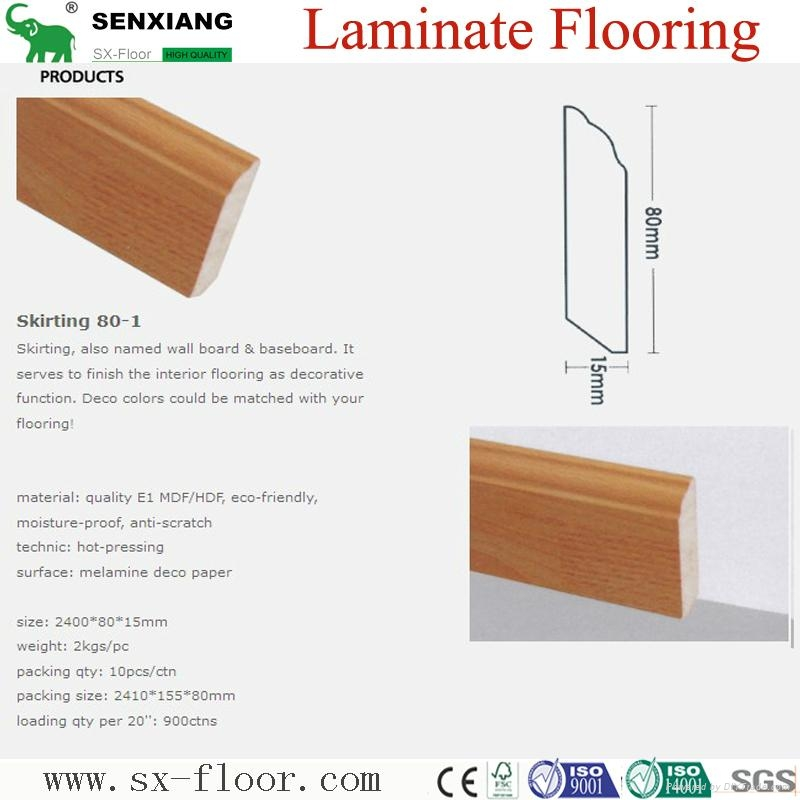 Accessories Of Laminate Flooring (Skirting/Wall board/Underlayment) 4