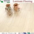 Superior Quality Glossy  smooth Laminate Flooring 2