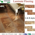 Decoration Art Parquet Wood Laminated