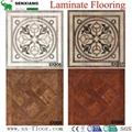 Decoration Art Parquet Wood Laminated Laminate Flooring 3