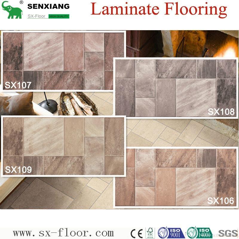 Decoration Art Parquet Wood Laminated Laminate Flooring 4