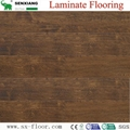 8mm Wenge Pattern Crystal Surface Laminated Wooden Laminate Flooring 3