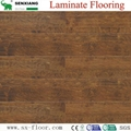8mm Wenge Pattern Crystal Surface Laminated Wooden Laminate Flooring 4